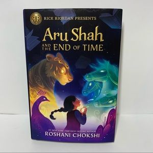 3/$25 Aru Shah & the End of Time Rick Riodan book